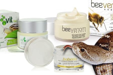Ce pot melcii, serpii si albinele sa faca pentru pielea noastra?