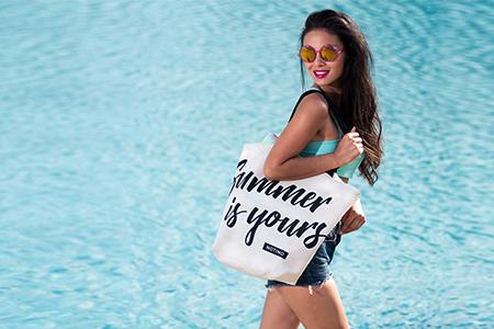 """""""Summer is yours"""" creație Notino: geanta ta de FIECARE vară!"""