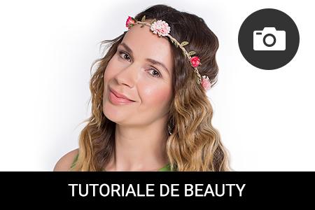 TUTORIAL: Cum să-ți ondulezi părul într-un look romantic, în stil BOHO-chic