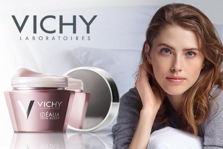 Vichy Idéalia Skin Sleep – frumusetea descoperita de mine!