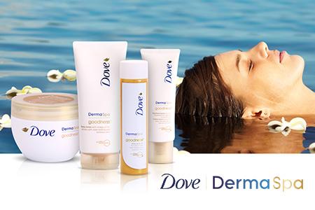 NOU: Dove DermaSpa -  poate fi o experienta de lux!