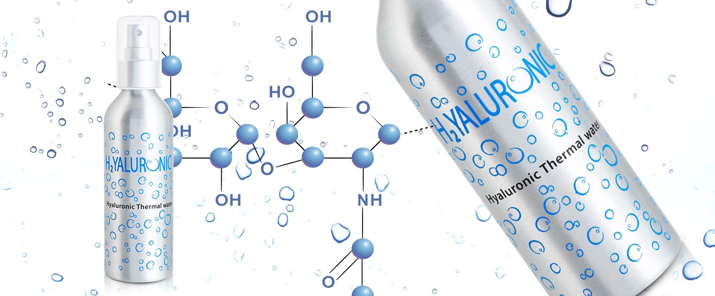 Apă termala cu acid hialuronic