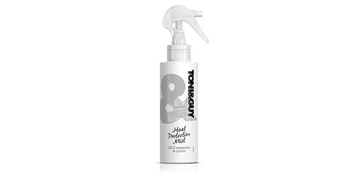 spray protector pentru îngrijirea părului expus la căldură