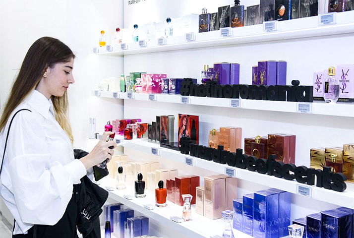 Cele mai noi parfumuri, Garderoba pentru parfumuri, Elle Brunch & Notino