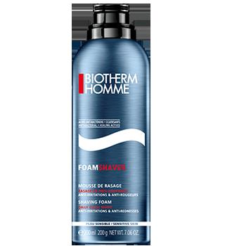 Biotherm Homme spuma pentru barbierit pentru piele sensibila