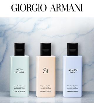 Armani Produse complementare