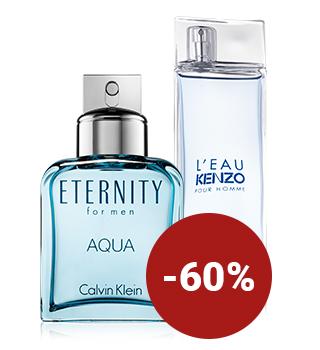 Până la 60% reducere la parfumuri pentru bărbați