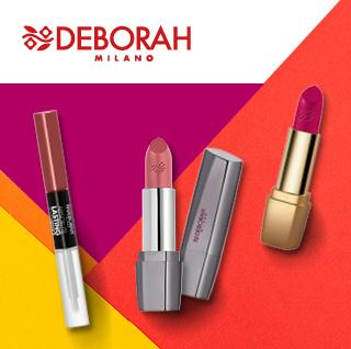Rujuri și luciuri de buze Deborah Milano