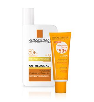 Creme ?i alte preparate dermatologice pentru protec?ia solară